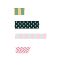 Paris Washi Tape - A Digital Scrapbooking Other Embellishment Asset by Marisa Lerin