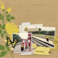 Splendid - A Digital Scrapbook Page by Marisa Lerin