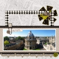 View from Above - A Digital Scrapbook Page by Marisa Lerin