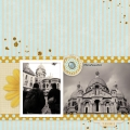 Montmartre - A Digital Scrapbook Page by Marisa Lerin