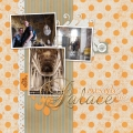 Inside the Palace - A Digital Scrapbook Page by Marisa Lerin