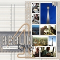 Berlin Tower - A Digital Scrapbook Page by Marisa Lerin
