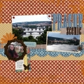 Scenic Prague - A Digital Scrapbook Page by Marisa Lerin