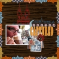 Moment Captured - A Digital Scrapbook Page by Marisa Lerin
