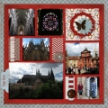 Prague Castle - A Digital Scrapbook Page by Marisa Lerin