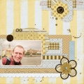 My Favorite - A Digital Scrapbook Page by Marisa Lerin