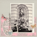 Extraordinary - A Digital Scrapbook Page by Marisa Lerin