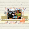 Planning - A Digital Scrapbook Page by Marisa Lerin