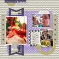 Lunch Stop - A Digital Scrapbook Page by Marisa Lerin
