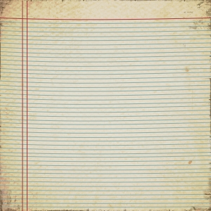 Vintage Notebook Paper - a digital scrapbooking paper by Marisa Lerin