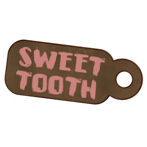 Sweet Tooth Tag - a digital scrapbooking tag embellishment by Marisa Lerin