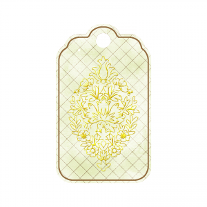 Ornamental Tag - a digital scrapbooking tag embellishment by Marisa Lerin