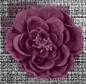 Paper Flower 7 Purple Digital Scrapbooking Free Download