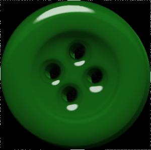 Green Button Digital Scrapbooking Free Download