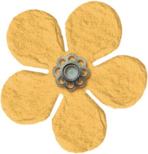 Yellow Flower Amsterdam Digital Scrapbooking Free
