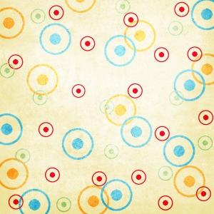Cupcake Circle Paper Digital Scrapbooking Free Download