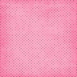 Pink Black Polka Dots Digital Scrapbooking Free Download