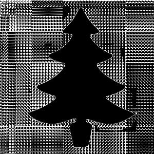 CHRISTMAS TREE TEMPLATES Santa Claus And Christmas