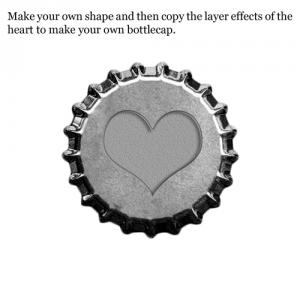 bottlecap free download digital scrapbooking template