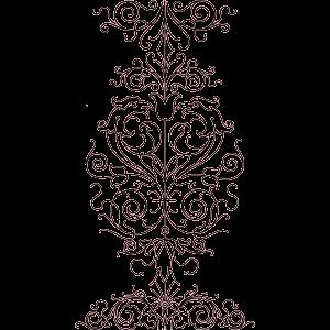 damask template