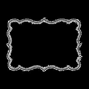 Bracket Shape 2 Free Download - Digital Scrapbooking Template outline stamp embellishment image ...