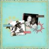 Incredible, Together, Authentic - A Digital Scrapbook Page by Marisa Lerin