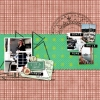 Harbor - A Digital Scrapbook Page by Marisa Lerin