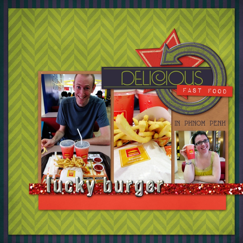 Delicious fast food free download digital scrapbook for Scrapbooking cuisine