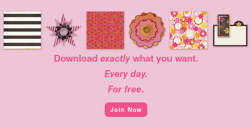 Download exactly what you want. Every day. For free. Join Now!