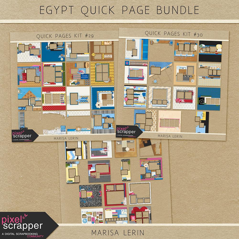 Egypt Quick Page Bundle