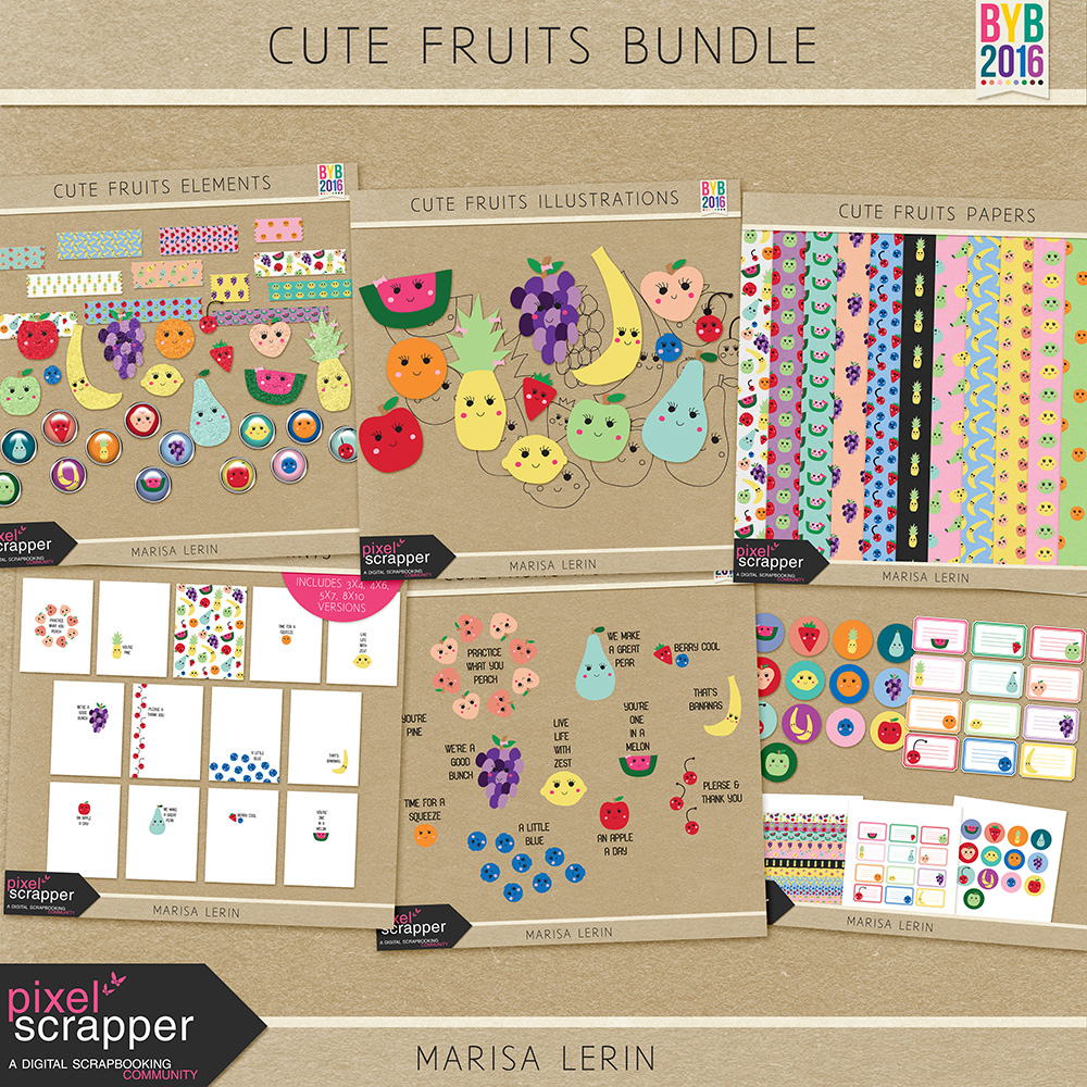Cute Fruits Bundle