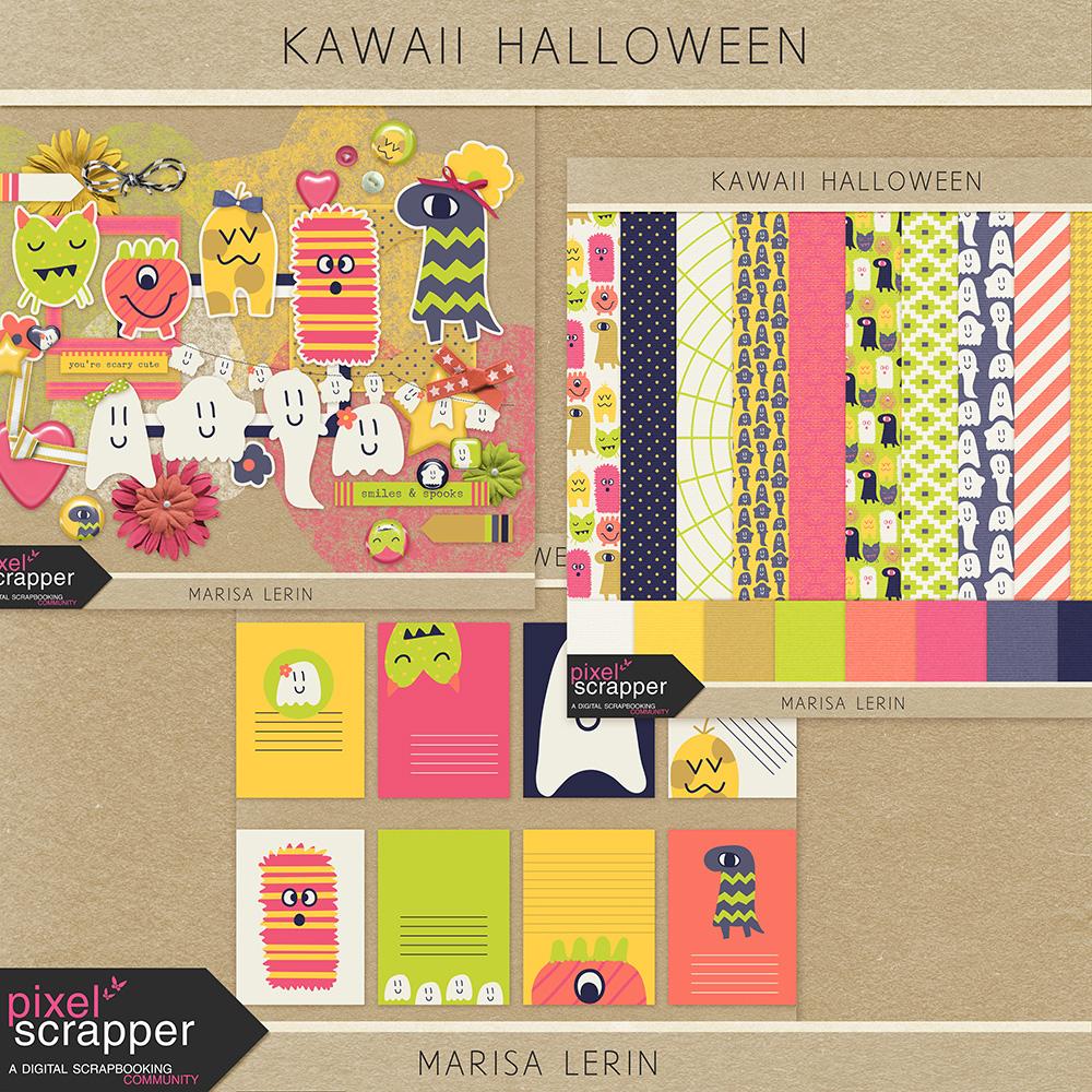 Kawaii Halloween by Marisa