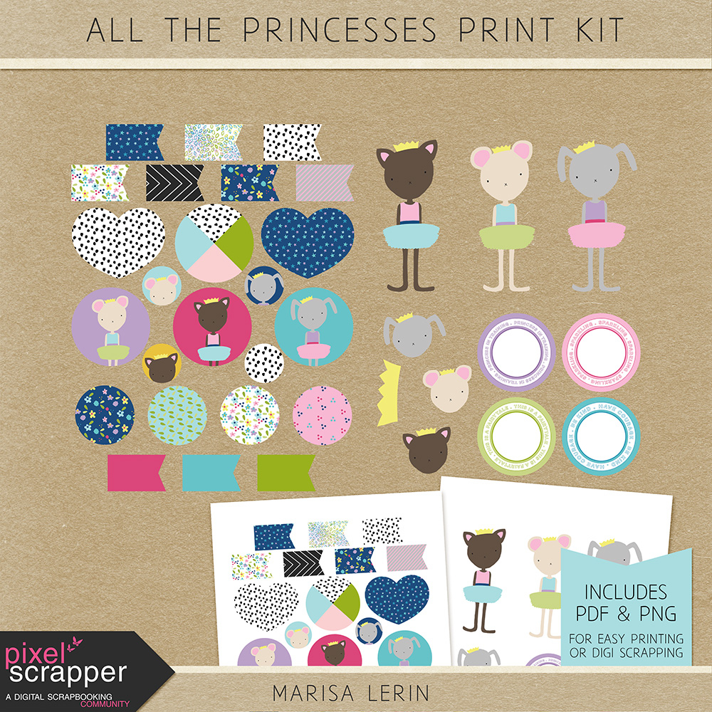 Princess Print Kit