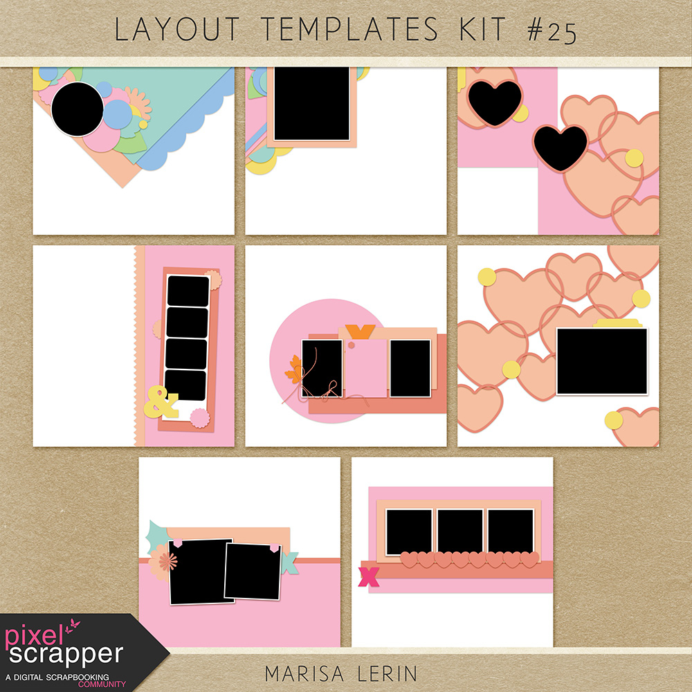Layout Templates Kit #25