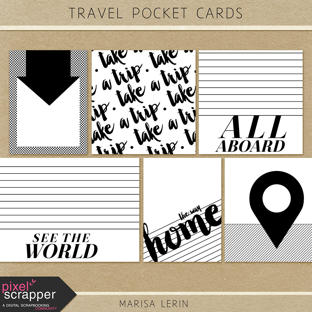 Travel Pocket Cards