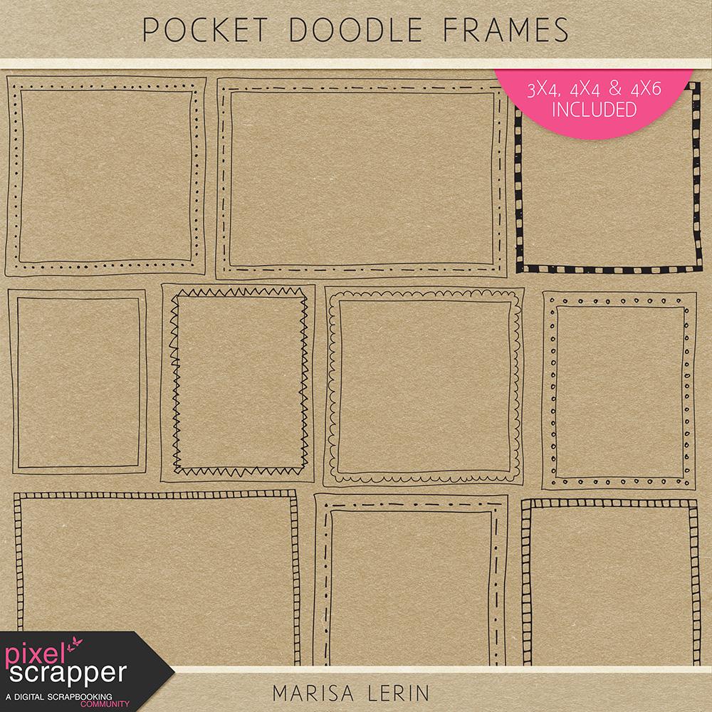 Pocket Doodle Frames
