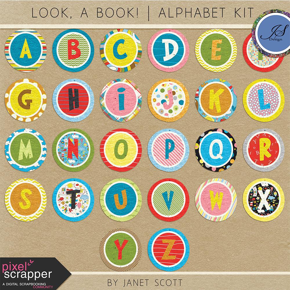 Look, A Book! Alpha