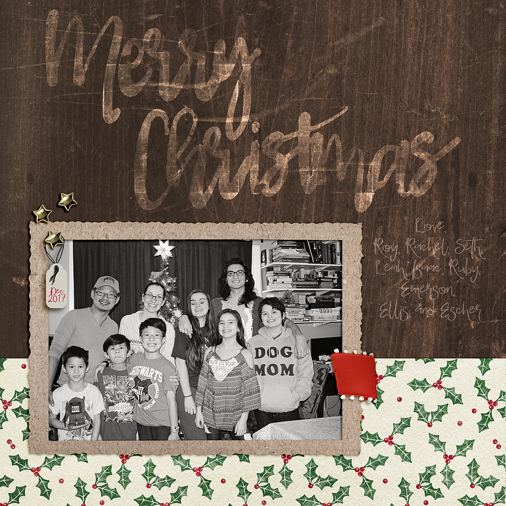 Virtual Christmas Card 2017:: by Rachel Martin | Pixel Scrapper ...