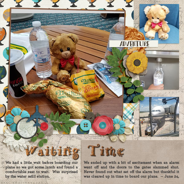 Waiting Time Mco By Karen Mathre Pixel Scrapper Digital Scrapbooking