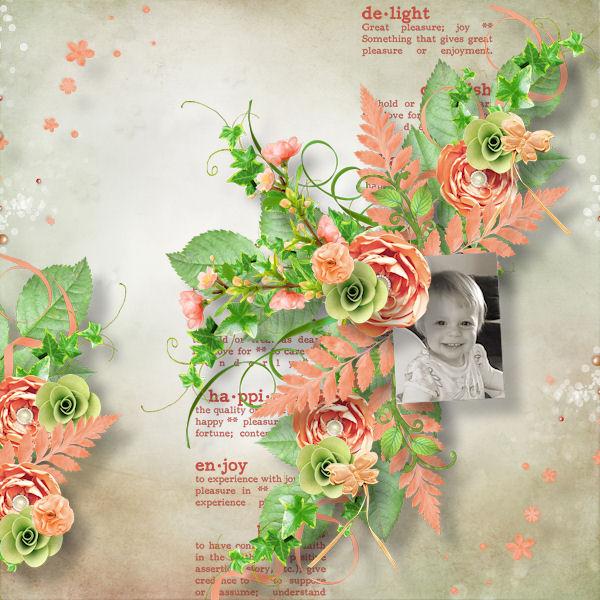 Bouton De Fleur By Jessica Nuis Pixel Scrapper Digital