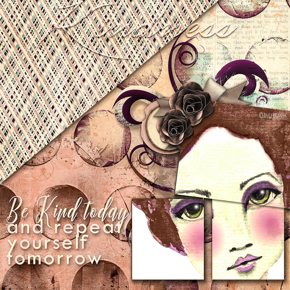 Kindness By Ange Brands Pixel Scrapper Digital Scrapbooking