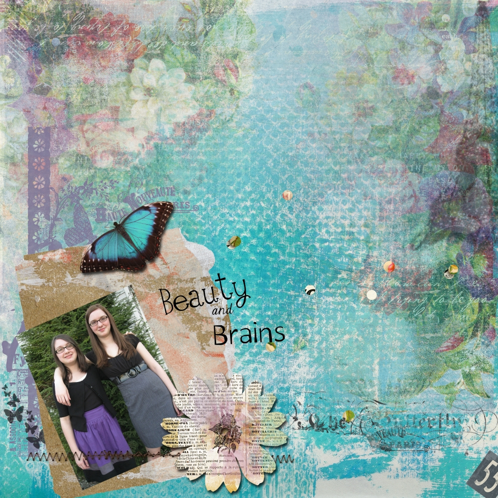 Beauty By Elizabeth Minkus Pixel Scrapper Digital Scrapbooking