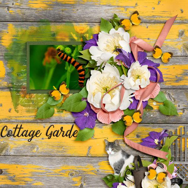 Cottage Garden By Chili Olson Pixel Scrapper Digital Scrapbooking