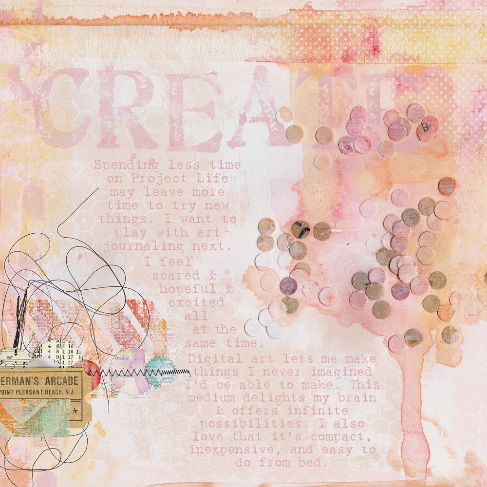 Create By Violet Irisovna Pixel Scrapper Digital Scrapbooking