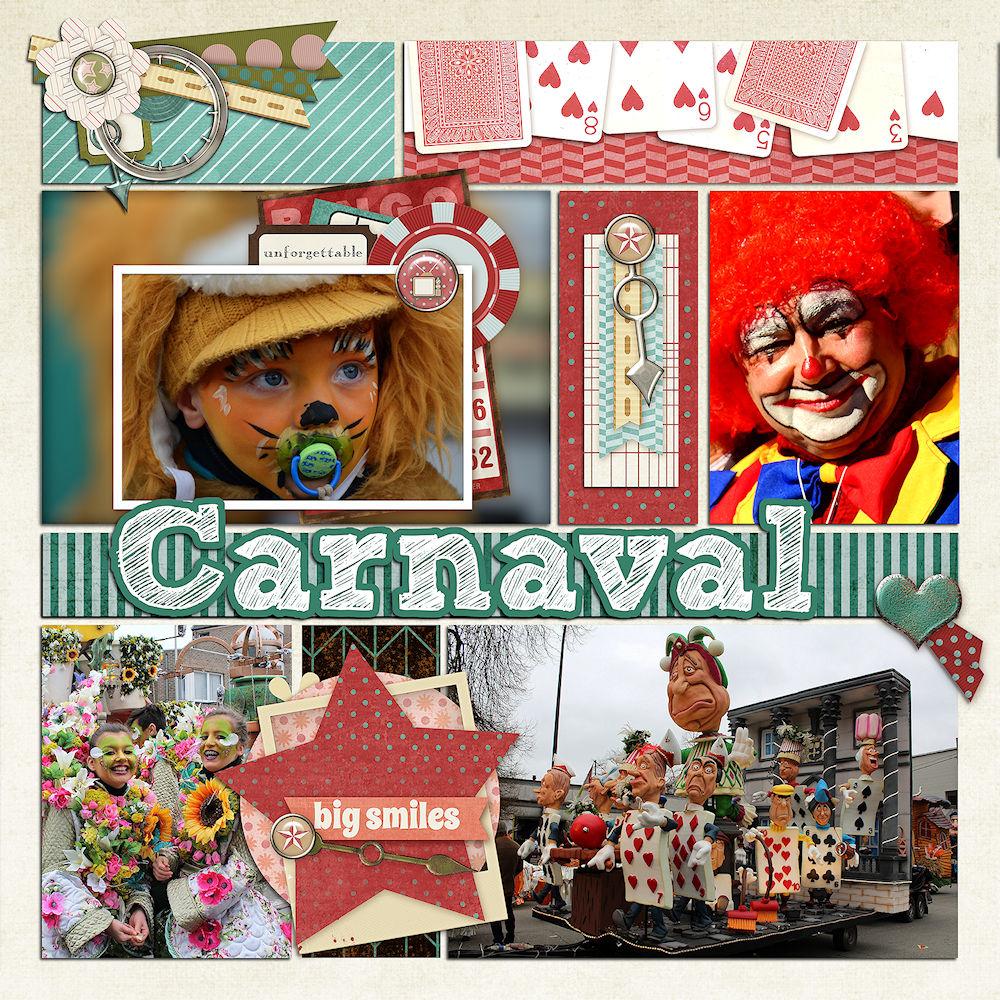 Carnaval By Diana Smet Pixel Scrapper Digital Scrapbooking