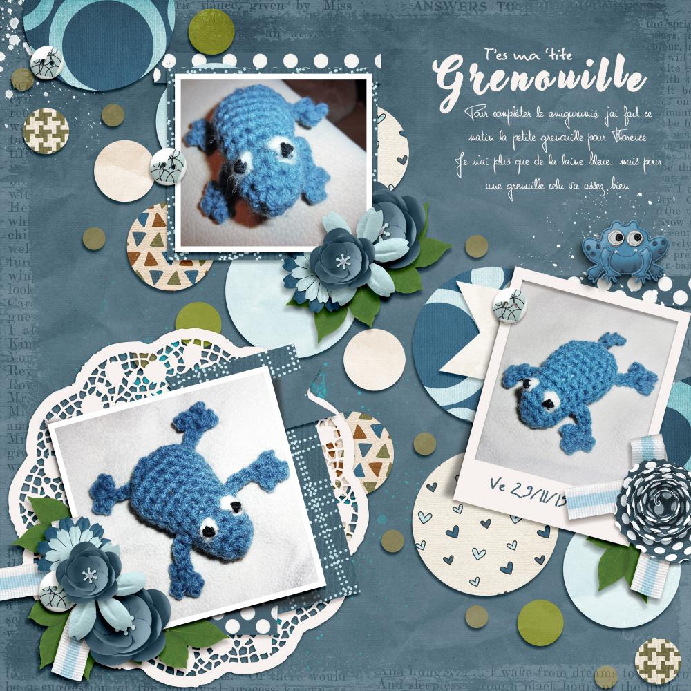 Milo the Frog (avec images) | Grenouille en crochet, Lapin en ... | 1000x1000
