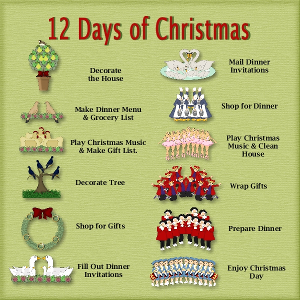 12 days of christmas by karen diebolt pixel scrapper digital scrapbooking