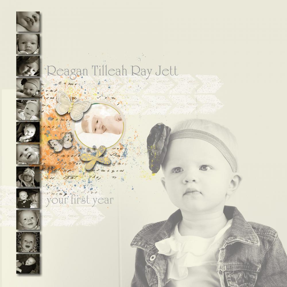 Daughters Baby Book Cover By Maggie Jett Pixel Scrapper Digital