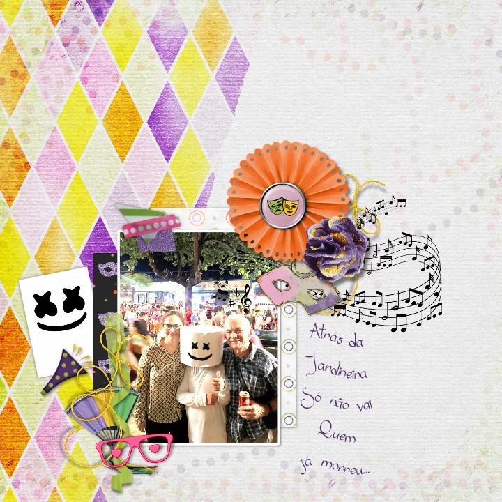 Carnaval 19 By Cintia Dhariana Pixel Scrapper Digital