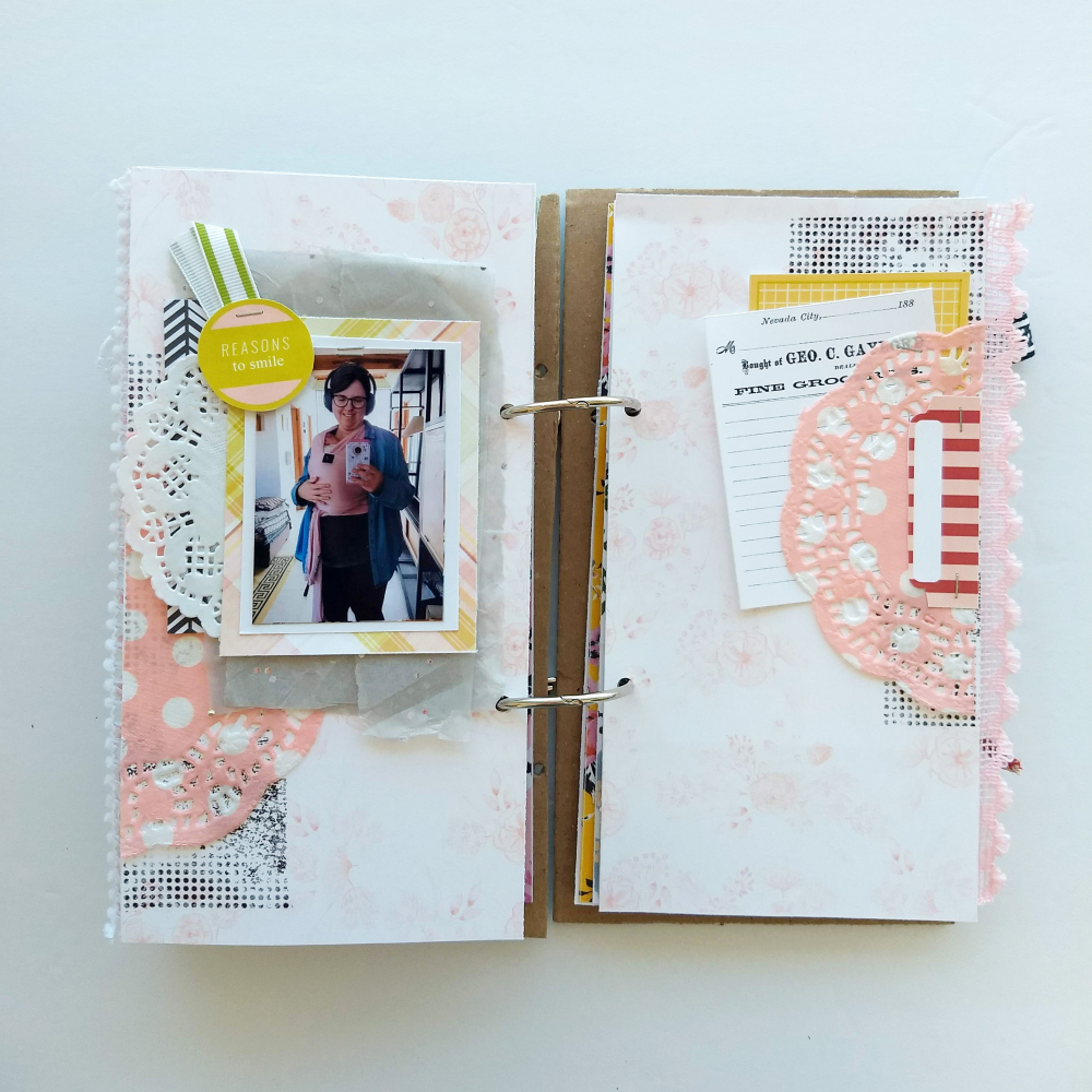 travelers notebook layout